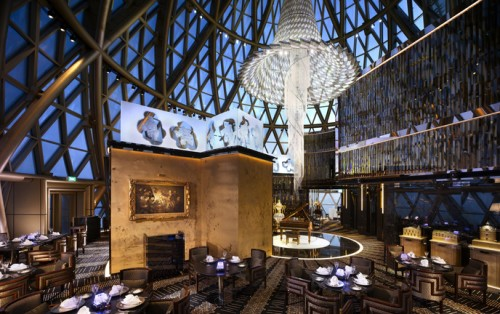 圖片_天巢法國餐廳室內環境 Photo_Robuchon au Dôme Interior