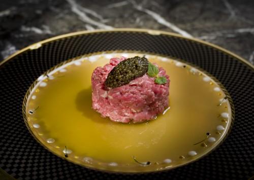 The Ritz-Carlton Cafe_Chef Raphael Tartare de Boeuf