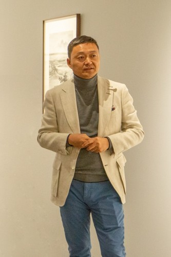 泰祥洲先生再次來到澳門作個人展覽