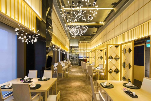 Yamazato Japanese restaurant located in the Okura Hotel Macau.